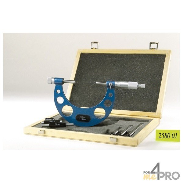 4mepro-micromètre Extérieur Avec Rallonge 200-300 Mm
