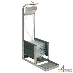 Lave-bottes complet pour pose verticale au sol