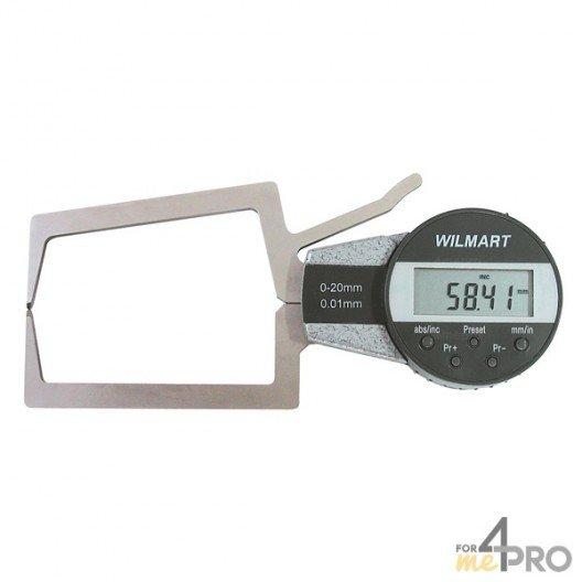 Palpeur extérieur digital capacité 20-40 mm