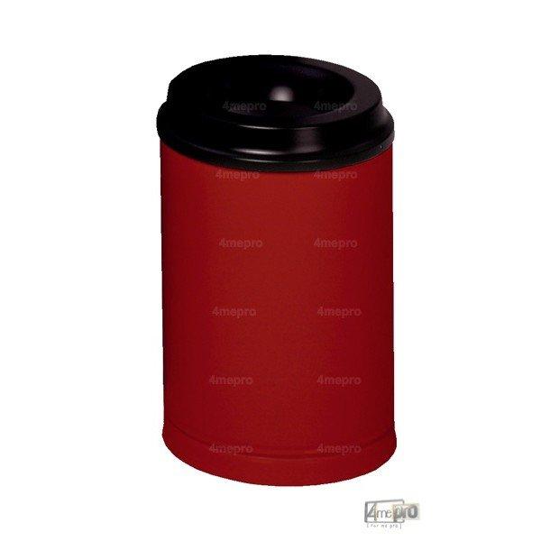 poubelle anti feu 80 l rouge agr e cnpp 4mepro. Black Bedroom Furniture Sets. Home Design Ideas