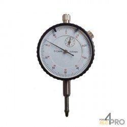 Comparateur économique avec patte - Course 0-10 mm