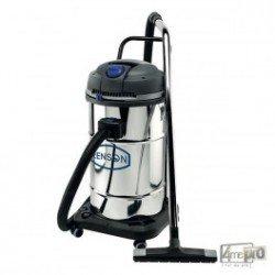 Aspirateur pro Renson 2x1000 W - Cuve inox 65 L