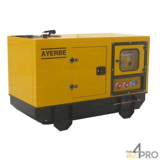 Groupe électrogène diesel insonorisé AY-1500 TX 12 kW