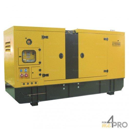 Groupe électrogène diesel insonorisé AY-1500 TX 26,4 kW Iveco