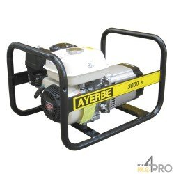 Groupe électrogène essence Ayerbe 3000 H MN Honda