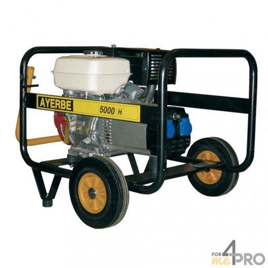 Groupe électrogène essence Ayerbe 5000 H MN Honda
