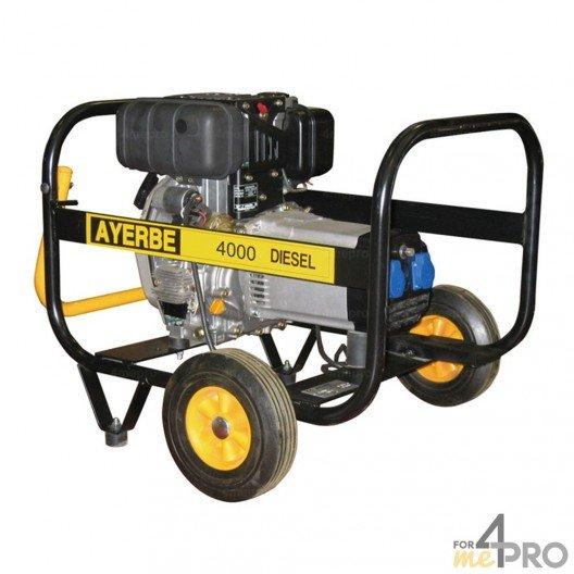 Groupe électrogène diesel Ayerbe 4000 Yanmar