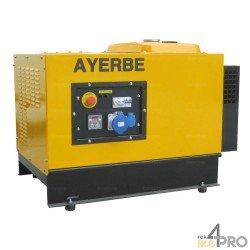Groupe électrogène essence insonorisé Ayerbe 8000 TX AE