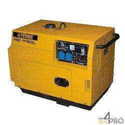 Groupe électrogène diesel insonorisé Ayerbe 6000 D MN Yanmar