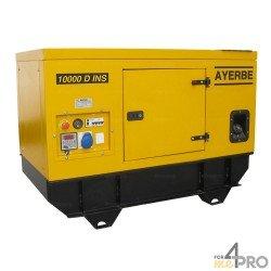 Groupe électrogène diesel insonorisé Ayerbe 10000 D TX Lombardini