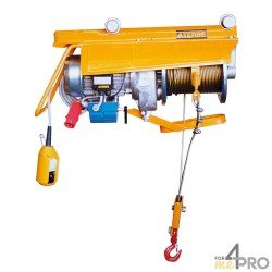 Treuil élévateur électrique - Capacité max 1000 kg