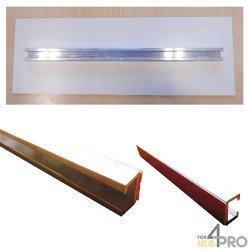 Rail de fixation pour panneaux de 25 cm