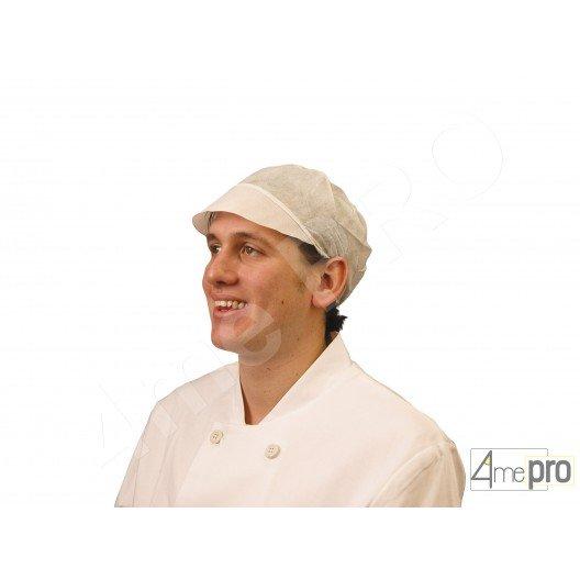 Casquette résille blanche