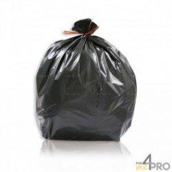 Sac poubelle 100L Noir BD 35 Microns - 200 sacs