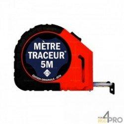 Mètre traceur - 5 m - mine noire