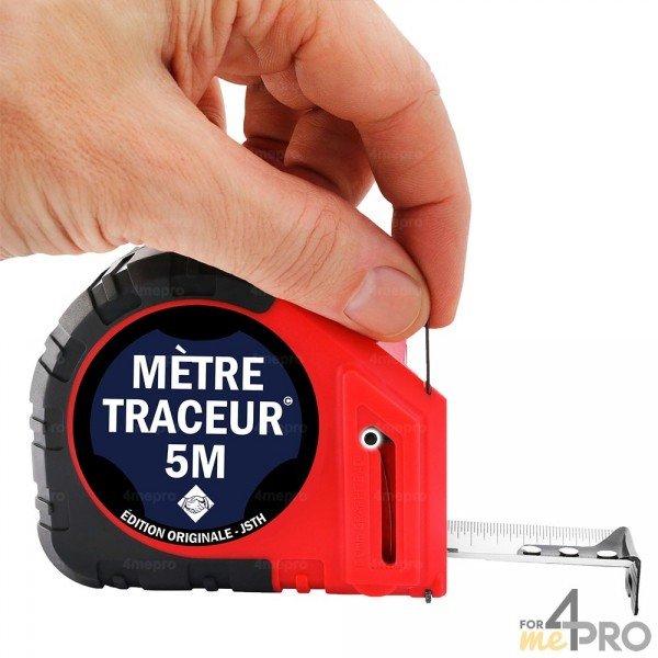 Chargement d'une mine du mètre traceur