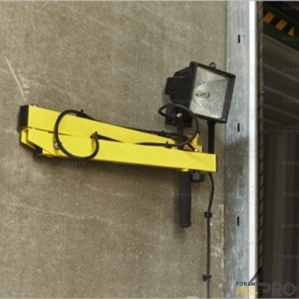 bras articulé pour projecteur de quai