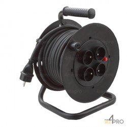Enrouleur de cable 25 m usage intérieur
