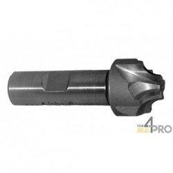 Fraise 1/4 de cercle concave HSS Co5% 4-6 dents - norme DIN 6518A
