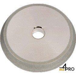 Meule de rechange CBN pour affuteuse de foret portative  Ø 2 à 14 mm - forets HSS et cobalt