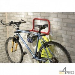 Support mural 2 vélos pliable