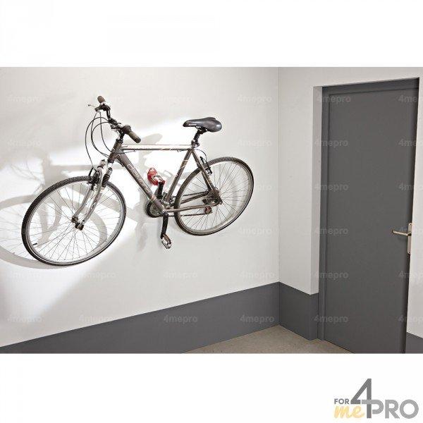 crochet mural pour v lo avec fixation par p dale. Black Bedroom Furniture Sets. Home Design Ideas