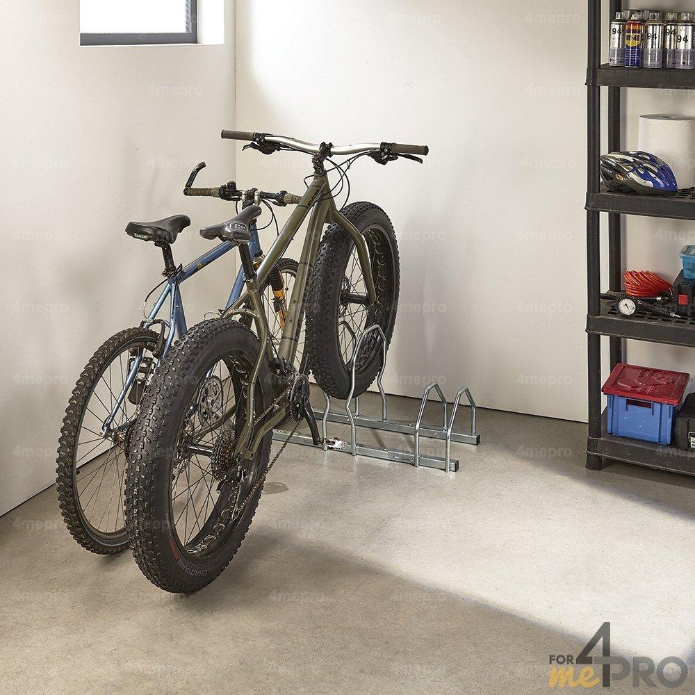 Fixation Pour Velo Garage râtelier pour vélos à pneus larges