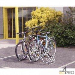 Râtelier au sol 2 niveaux - 3, 5 ou 9 vélos