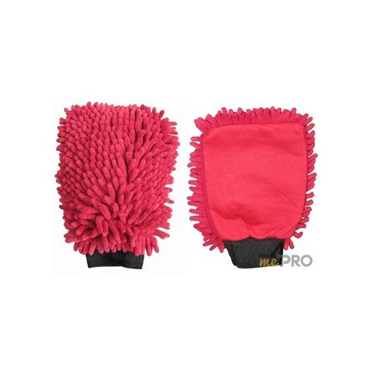 Gant de lavage Micro-Fibre ''Rasta'' rouge