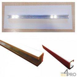 Rail de fixation pour panneaux de 35 cm