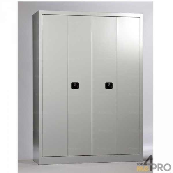 armoire m tallique portes pliantes 4mepro. Black Bedroom Furniture Sets. Home Design Ideas