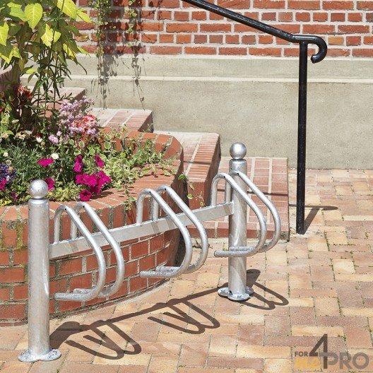 Râtelier New York galvanisé 3 vélos