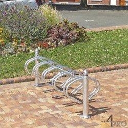 Râtelier New York galvanisé - 10 vélos