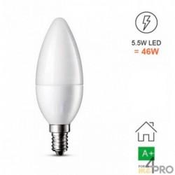 Ampoule LED E14 - forme flamme C37
