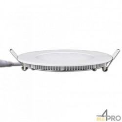 Dalle LED ronde extra plate - IP20 et IKO5