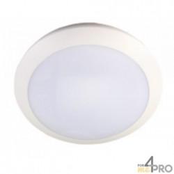 Hublot plafonnier LED étanche - IP65 et IK10