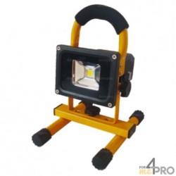 Projecteur LED rechargeable et portable avec batterie