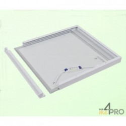 Cadre pour dalle LED carrée