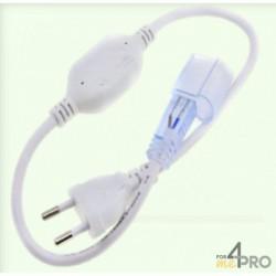 Cordon d'alimentation 8A pour flexible LED