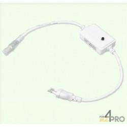 Cordon d'alimentation manuel pour flexible LED RGB