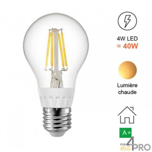 Ampoule LED à filament - culot E27