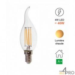 Ampoule LED E14 à filament