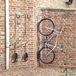 """Crochet à vélo individuel """"antivol"""" - 1 vélo"""