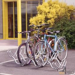 Râtelier au sol 2 niveaux - 6 vélos
