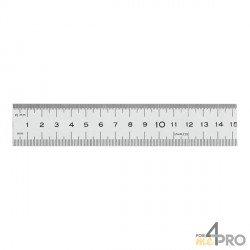 Réglet en inox CEE Classe II demi rigide 30 cm