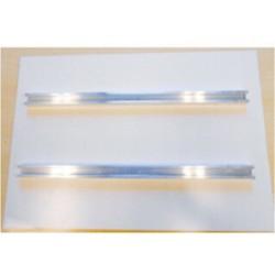 Rails de fixation pour panneaux de 70 x 25 cm