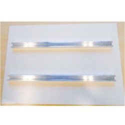 Rails de fixation pour panneaux de 98 x 35 cm