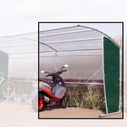 Extension pour abri vélos, motos, abribus