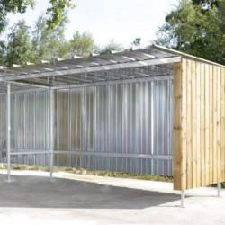 Extension pour abri extérieur 400 x 225 x 207 cm