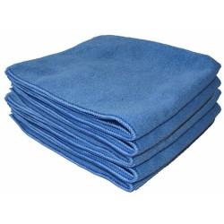 "Micro-Fibre ""Tricot Soft"" 40 x 40 cm bleu"